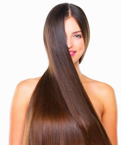 Блеск волос в домашних условиях