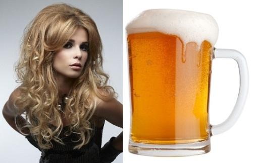 пиво для волос применение