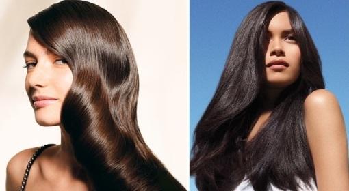 Придание блеска волосам