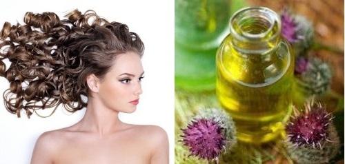 Чем можно смыть с волос репейное масло?