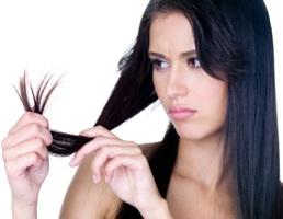 секущиеся волосы фото
