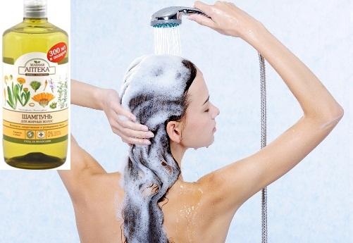 шампунь для жирных волос фото