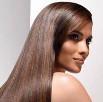 гладкие и шелковистые волосы