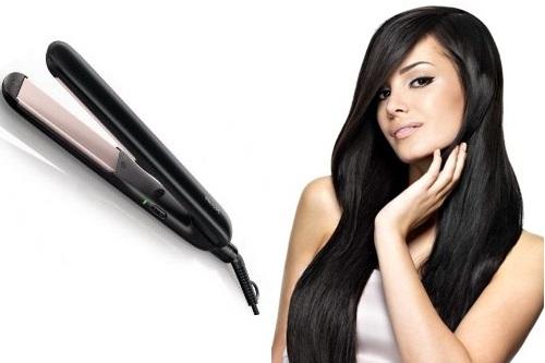 выпрямить волосы утюжком фото