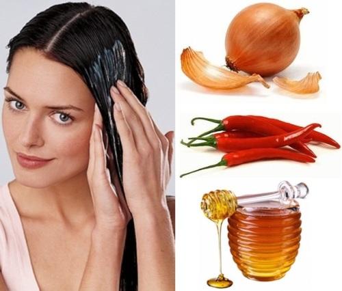 луковая маска для волос против выпадения: фото